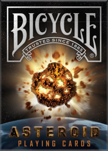 Bicycle® Asteroid Playing Card Deck Perspective: front