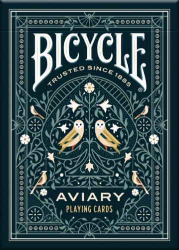 Bicycle® Aviary Playing Cards Perspective: front