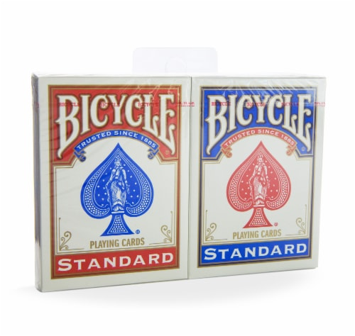 Bicycle® Standard Playing Cards - 2 pk - Red/Blue Perspective: front