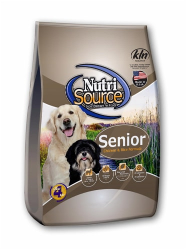 Nutri Source Chicken and Rice Cubes Dog Food 5.52 lb. - Case Of: 1; Perspective: front