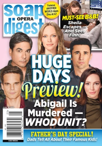 Soap Opera Digest Perspective: front