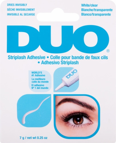 Duo White and Clear Eyelash Adhesive Perspective: front