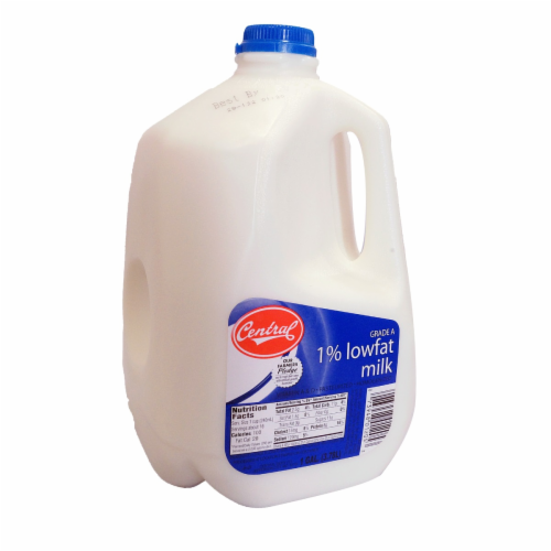 Central 1% Lowfat Milk Perspective: front