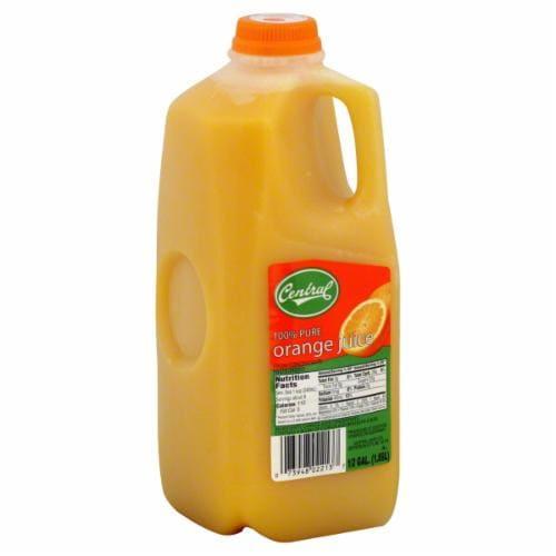 Central Orange Juice Perspective: front