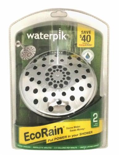 Waterpik® EcoRain Shower Head Perspective: front