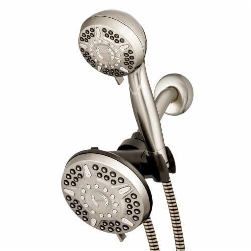Waterpik® PowerPulse Combo 2-in-1 Dual Shower System Perspective: front
