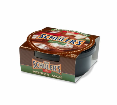 Win Schuler's Pepper Jack Cheese Spread Perspective: front