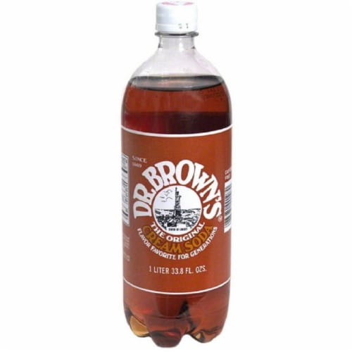 Dr. Brown's Cream Soda Perspective: front