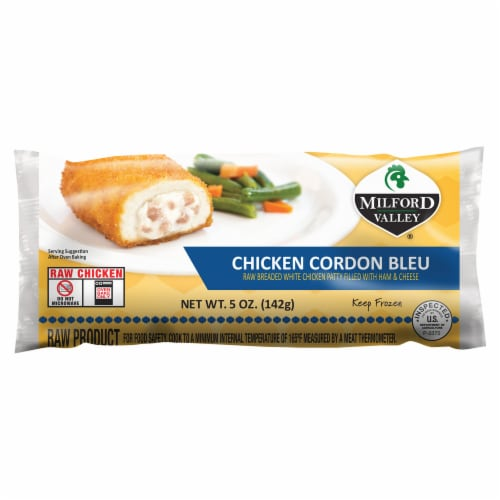 Milford Valley Chicken Cordon Blue Perspective: front