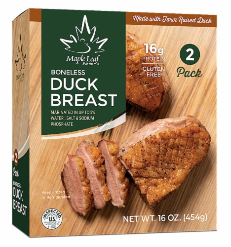 Maple Leaf Farms Boneless Duck Breast Perspective: front