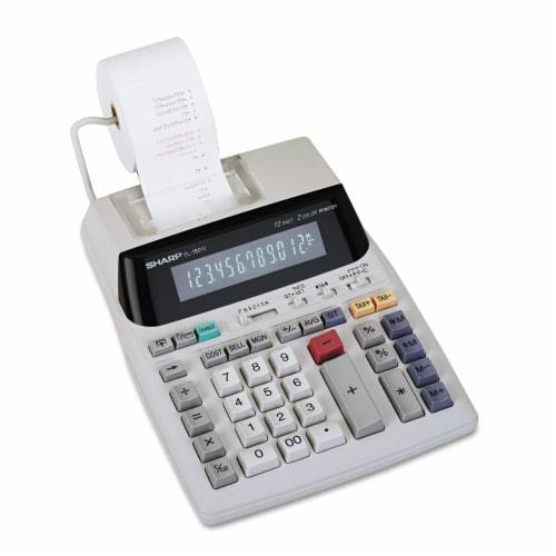Sharp Calculator,El1801v,We EL1801V Perspective: front