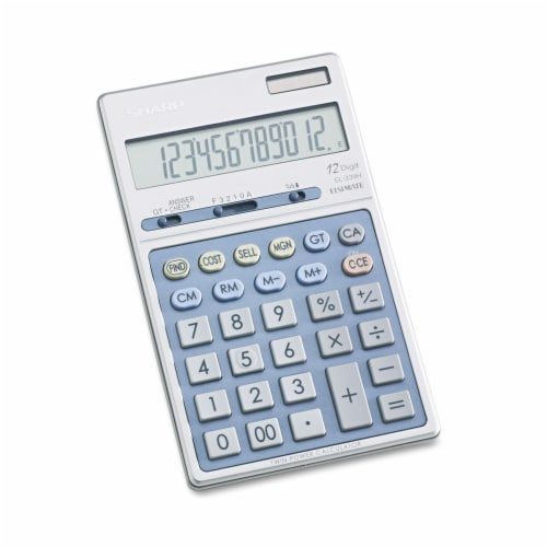 Sharp Calculator,12-Dig Dsktp EL339HB Perspective: front