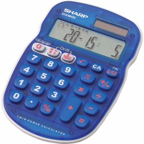 Sharp Calculators  Simple Calculator ELS25BBL Perspective: front