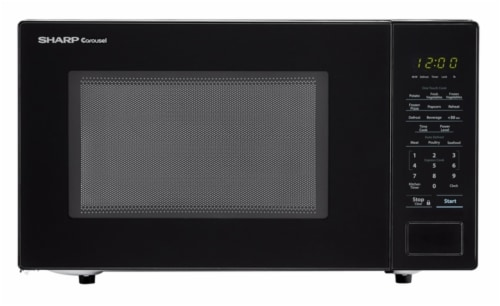 Sharp Carousel® Countertop Microwave Oven - Black Perspective: front