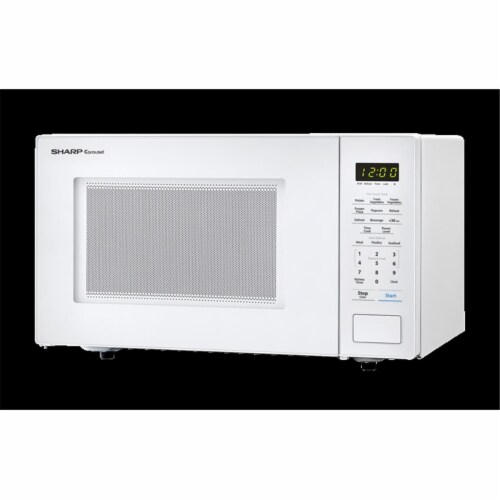 Sharp SMC1131CW 1.1 Cubic ft. 1000 W Touch Microwave with 11.25 in. Turntable Perspective: front