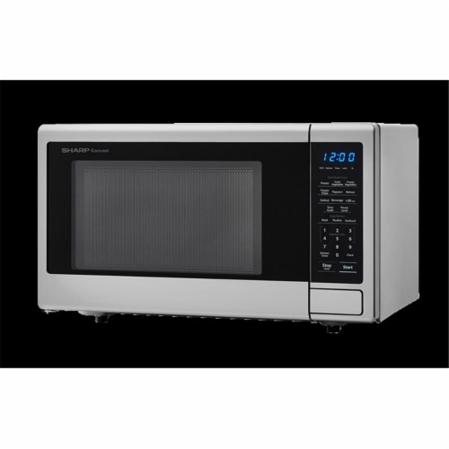 Sharp SMC1132CS 1.1 Cu. Ft. 1000W Stainless Steel Countertop Microwave Perspective: front