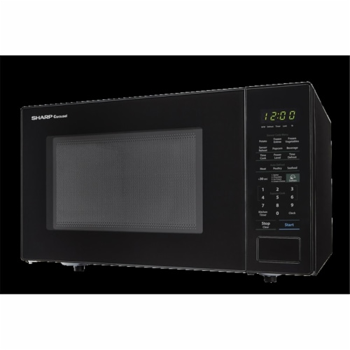 Sharp SMC1441CB 1.4 Cubic ft. 1000 W Microwave with 12.75 in. Turntable Perspective: front