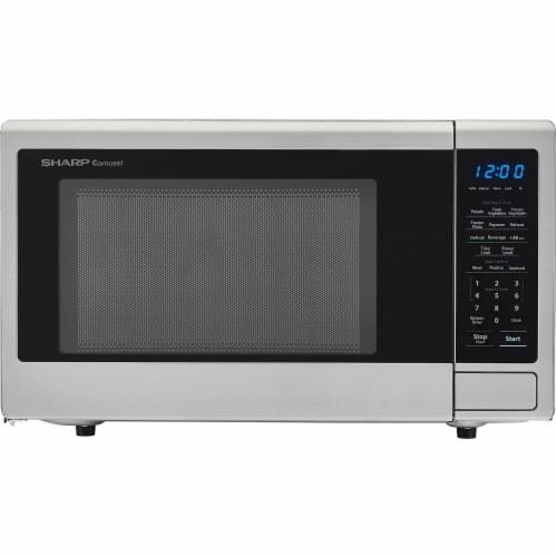 Sharp Carousel 1000 Watt Countertop Microwave Oven Perspective: front