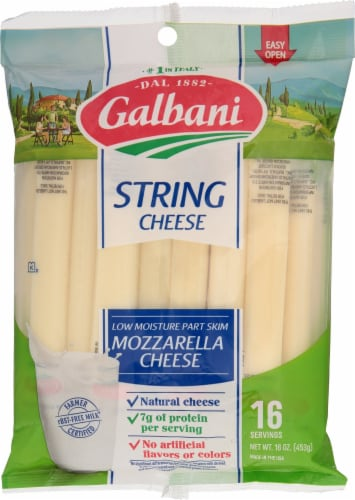 Galbani String Cheese Perspective: front