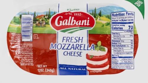 Fred Meyer - Galbani Fresh Mozzarella Log, 12 Oz