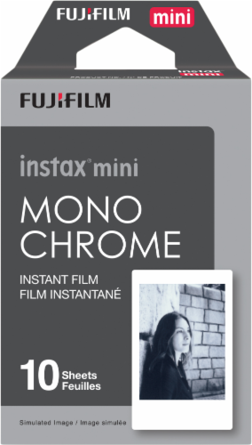 FujiFilm Instax® Mini Monochrome Film - 10 Pack Perspective: front
