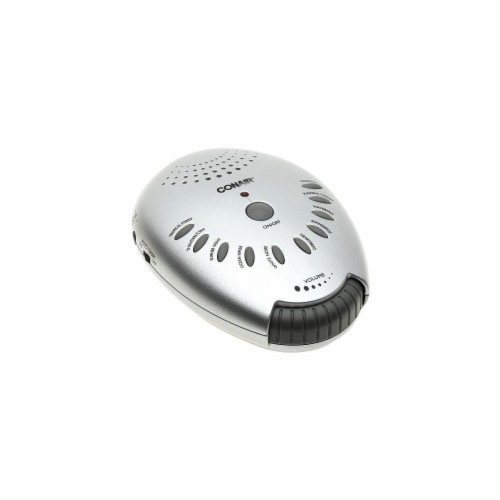 Conair Sound Therapy Sound Machine - Silver Perspective: front