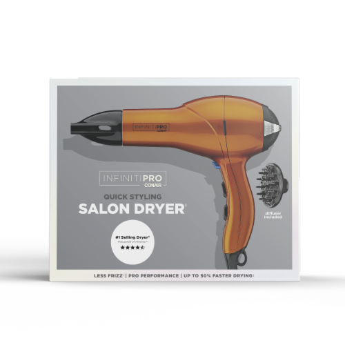 Infiniti Pro Quick Styling Salon Hair Dryer Perspective: front