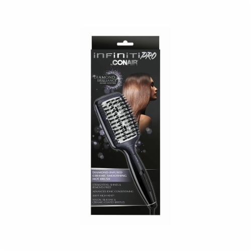 Conair InfinitiPro Hot Paddle Brush Perspective: front
