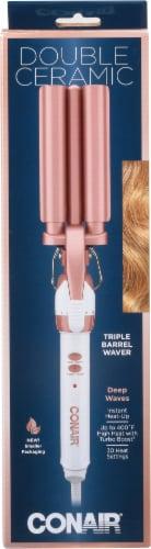 Conair Double Ceramic Triple Barrel Waver Perspective: front