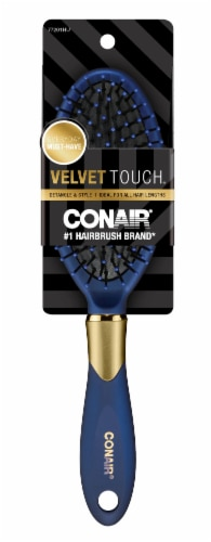 Conair Velvet Touch Cushion Brush Perspective: front