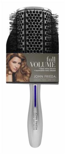 John Frieda Full Volume Hair Brush - Silver Perspective: front