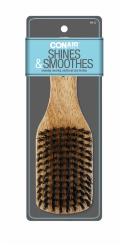 Conair Wood Boar Brush Perspective: front