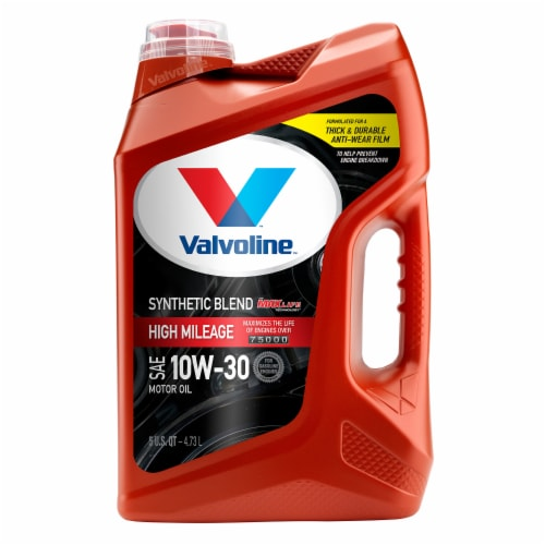 Valvoline MAXLife SAE 10W-30 Synthetic Blend Motor Oil Perspective: front