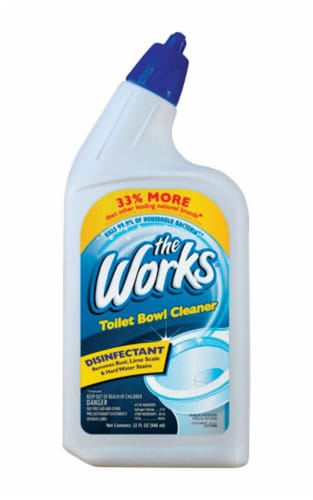 The Works Disinfectant Toilet Bowl Cleaner Perspective: front