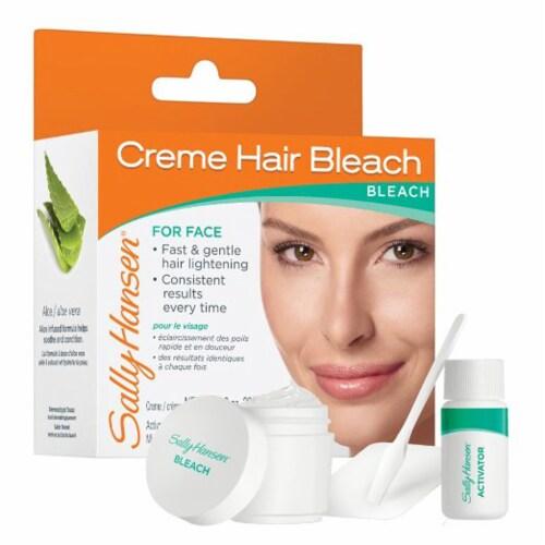 Sally Hansen Cream Hair Bleach for Face Perspective: front