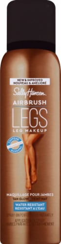 Sally Hansen Airbrush Legs Tan Glow Leg Makeup Perspective: front