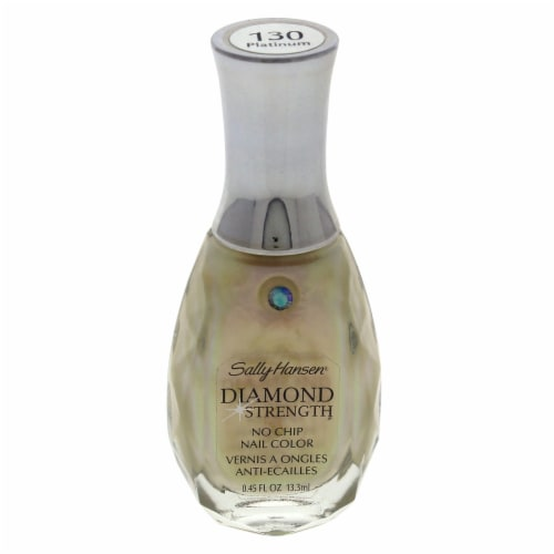 Sally Hansen® Diamond Strength Platinum #130 No Chip Nail Color Perspective: front