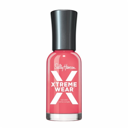 Sally Hansen Hard as Nails Xtreme Wear Coral Reef Nail Color Perspective: front