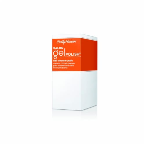 Sally Hansen Salon Gel Polish Nail Cleanser Pads Perspective: front