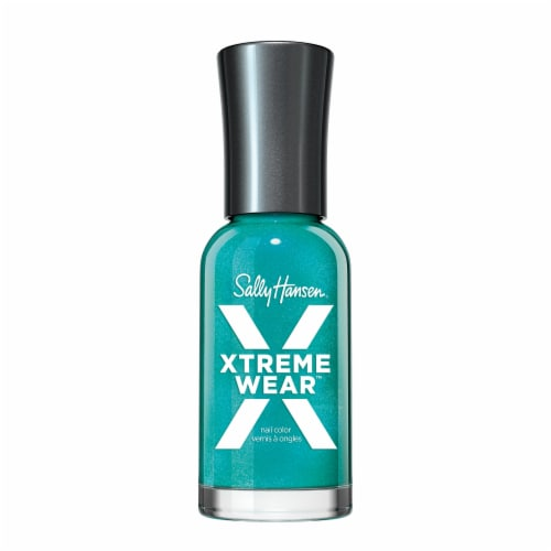 Sally Hansen Hard as Nails Xtreme Wear 280 Jazzy Jade Nail Color Perspective: front