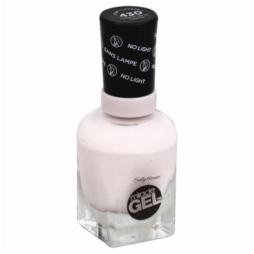 Sally Hansen Miracle Gel 430 Creme De La Creme Nail Polish Perspective: front
