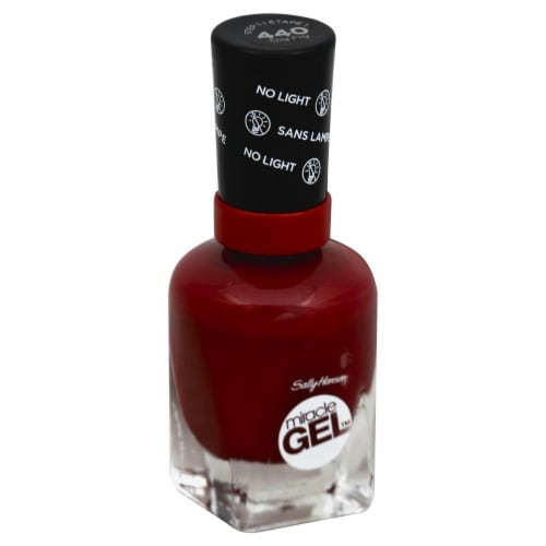 Sally Hansen Miracle Gel 440 Dig Fig Nail Polish Perspective: front