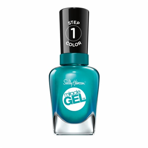 Sally Hansen Miracle Gel 540 Combustealble Nail Polish Perspective: front