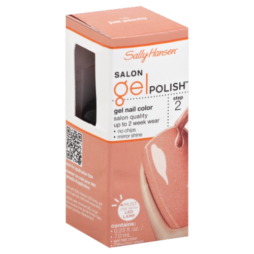 Sally Hansen  Just Peachy  Salon Pro Gel Nail Polish Perspective: front
