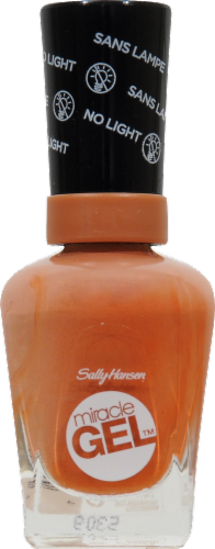 Sally Hansen Miracle Gel 650 Per Suede Nail Polish Perspective: front
