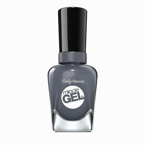 Sally Hansen Miracle Gel Slate R Girl Nail Polish Perspective: front