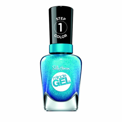 Sally Hansen Miracle Gel Flash Ionista Nail Polish Perspective: front