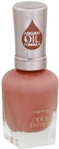 Sally Hansen Color Therapy Argan Oil Formula Primrose and Proper Nail Polish Perspective: front