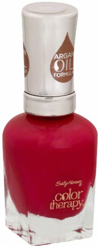 Sally Hansen Color Therapy Pampered Pink Nail Polish Perspective: front