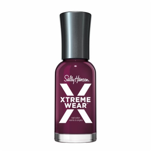 Sally Hansen Hard as Nails Xtreme Wear 584 With the Beet Nail Color Perspective: front